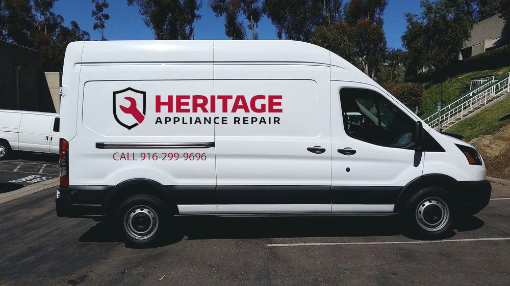 heritage appliance repair van